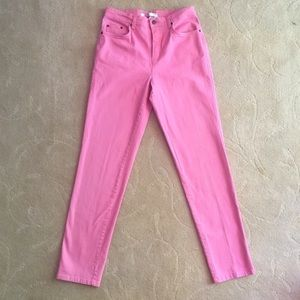 VTG 80's Pink Mom Jeans High Waist 8